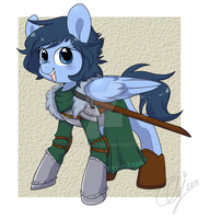 Cutest Warrior by InkieHeart