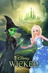 Disney WICKED the musical ADAPTION POSTER by Umbridge1986