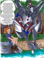 Starscream and The Girl 2 by neoyi