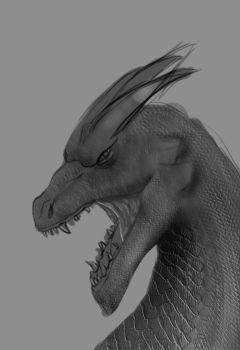 Charizard WIP by jim-alex