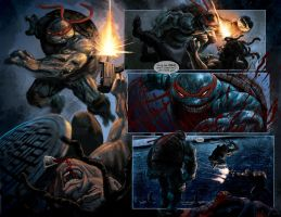 TURTLES: Dawn of the Ninja: TMNT RAPH FIGHT SCENE! by RayDillon