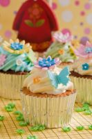 Beautiful cupcakes by greende