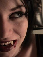 vamp fangs 16 by thesiNister-stock