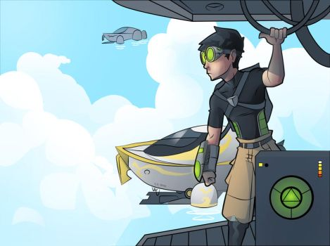 Cloud ships by Video320