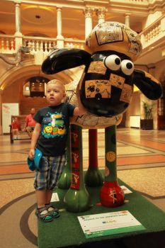 Shaun the sheep by crazykeith2