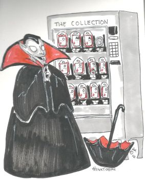 Inktober- Blood Collection by Badseedshalo