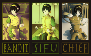 Avatar Evolutions: Toph Bei Fong by BarnCatz