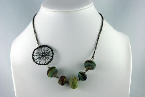Carriage Ride II Necklace by michelleaudette