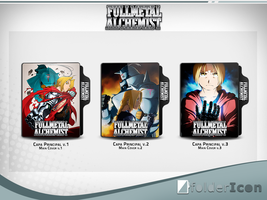 Fullmetal Alchemist Icon Pack by GianMendes