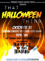 """""""That Halloween Thing"""" Flier by VHCrow"""