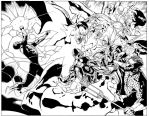 Green Lantern 14, pages 8 and 9 by MarkIrwin