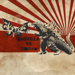 Godzilla vs Mothra by muetzeone