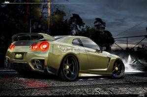 Nissan GT-R by galantaigeri