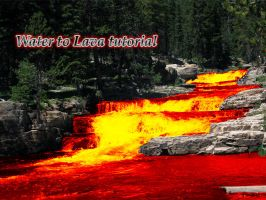 Water to Lava tutorial by DevinShadowV
