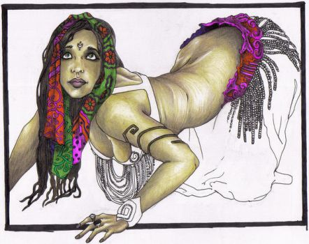 Belly Dancer by jami43907