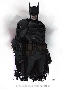 Batman Arkham Knight - Batman by BrokenNoah