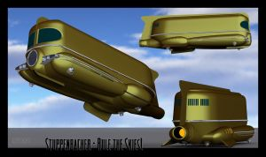Stuppenbacher Airship - WIP001 by Ptrope