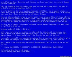 If A BSOD Was Helpful by VickyM72