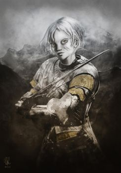 Brienne of Tarth by artofEvre