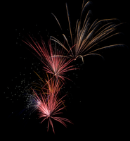 July 4th 2013 Fireworks 1 by WayvDesigns