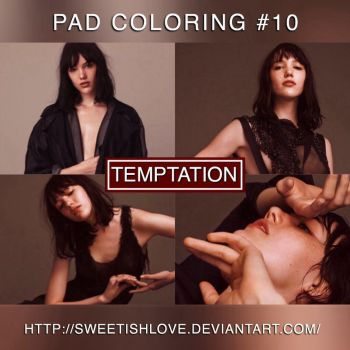 PAD Coloring #10 - Temptation by Sweetishlove