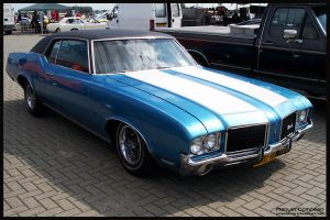 1970 Olds Cutlass Supreme by compaan-art