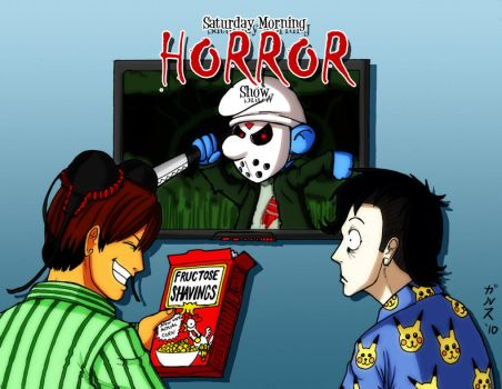 Saturday Morning Horror Show by Garth2The2ndPower