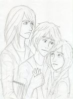 Dumbledore family uncolored by Dinoralp