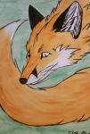 Spirit of the red fox by tabithamack
