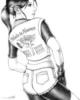 Claire Redfield - Sketch by hinxlinx
