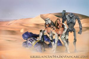 ... a female Warband ... by Antiochia