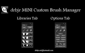 drbjr MINI Custom Brush Manager - Demo With Audio by drbjrart