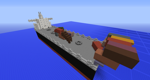 Cargo Ship by Xeroph19