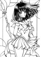 Sailor saturn by robersilva