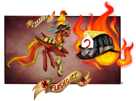 Character Card - Flashover by NekoMellow