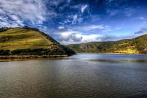 Lake in Bethells HDR by MisterDedication