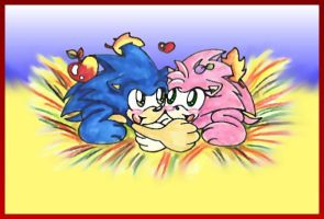 Real hedgies love by ArisuAmyFan