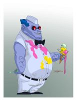 Mr Freeze Redesign by RC-draws