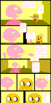 Jake and Prismo Conversation by Sonicchick113