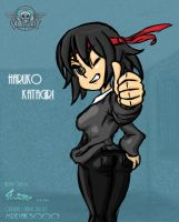 Request: Skullgirls OC - Haruko Katagiri by southpawper