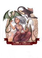 Daenerys Targaryen (TV series version) by kzver