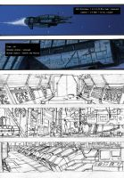 Aliens Colonial marines Fan comic page 1 by MartinPark