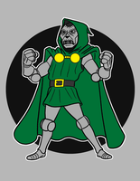 dr.doom by AlanSchell