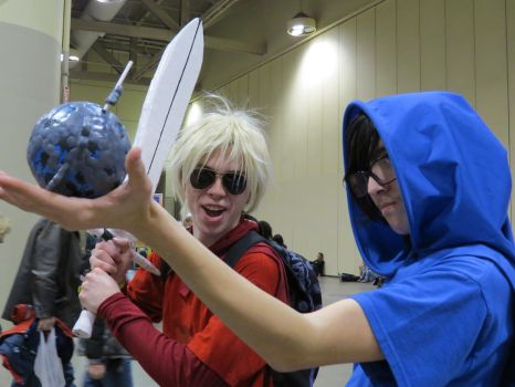 The world in his hand - Toronto ComiCon 2014 by Yurichan678