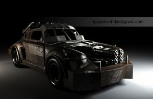Death Race - 14K Porche 911 by nguyenanhdac