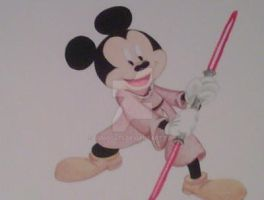 Darth Mouse concept by bsmoov25