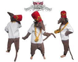 Rastamouse kigurumi by diemortalroom