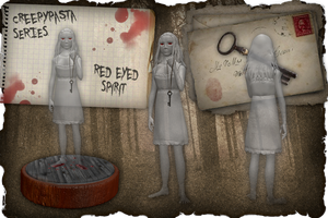 Creepypasta Series 13: Red Eyed Spirit by dimelotu