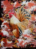 Camo cluck by Abuttonpress2Nothing