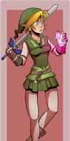 Gender Swap Link by CauseImDanJones